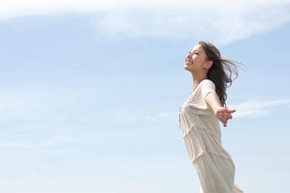 腰痛から解放された女性