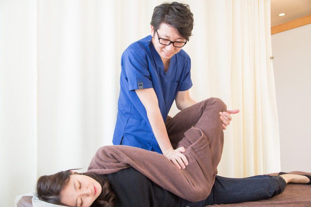 駒込整体院の坐骨神経痛施術